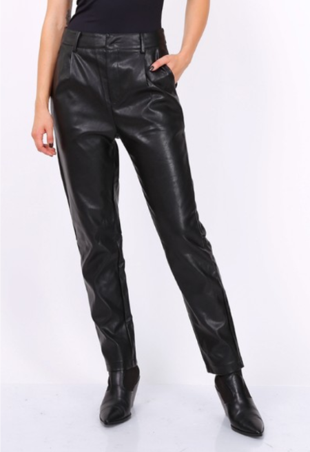 PANTALON CUIR SYNDERME LOVIE