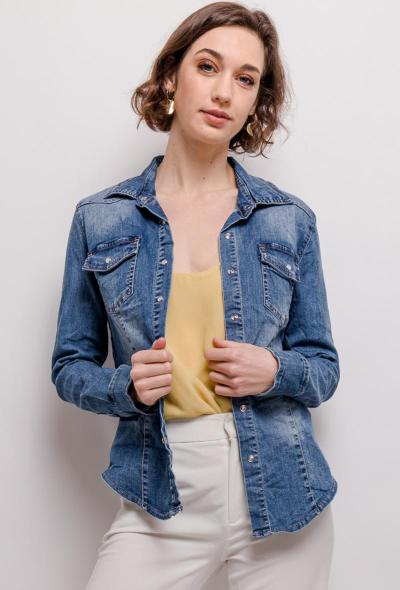CHEMISE JEANS ARELINE