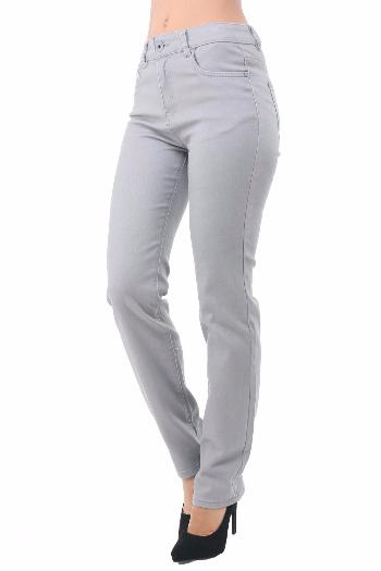 JEANS TAILLE HAUTE STRECH PERLE