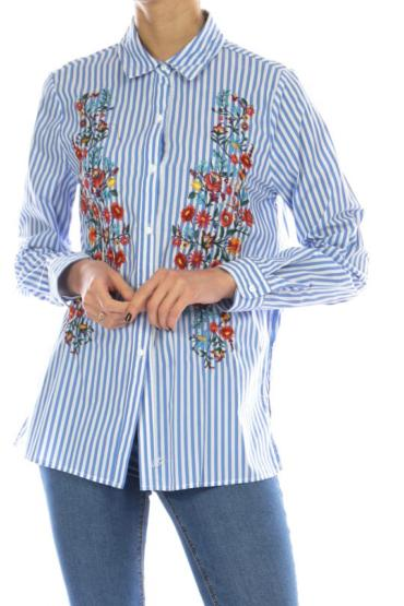 CHEMISE BRODERIE FLORAL