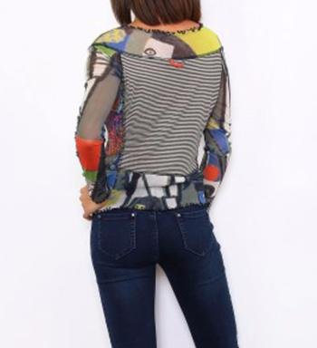 TOP LULU H PATCHWORK